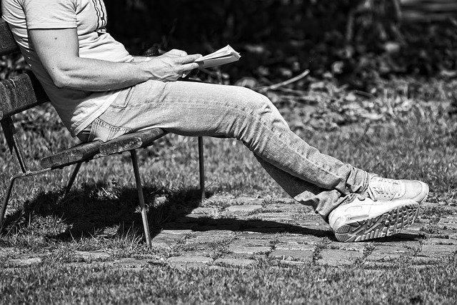 četba na lavičce