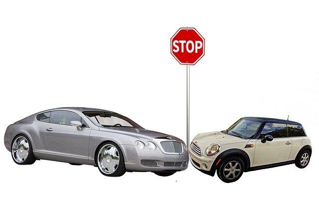 dopravní nehoda u stopky