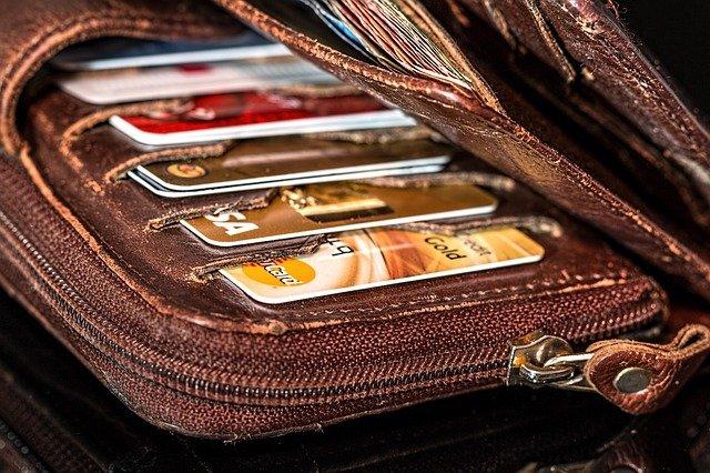 peněženka na kreditky